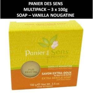 Panier des Sens - Vanille Nougatine - Seife - Körperpflege - Kosmetik - 3x100g