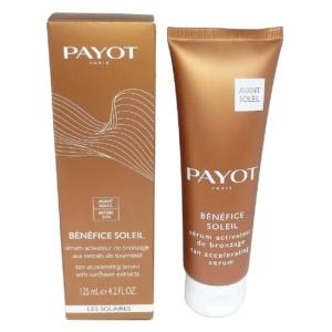 Payot Benefice Soleil Serum Activateur Bronzage Gesicht Körper Bräunung 125ml