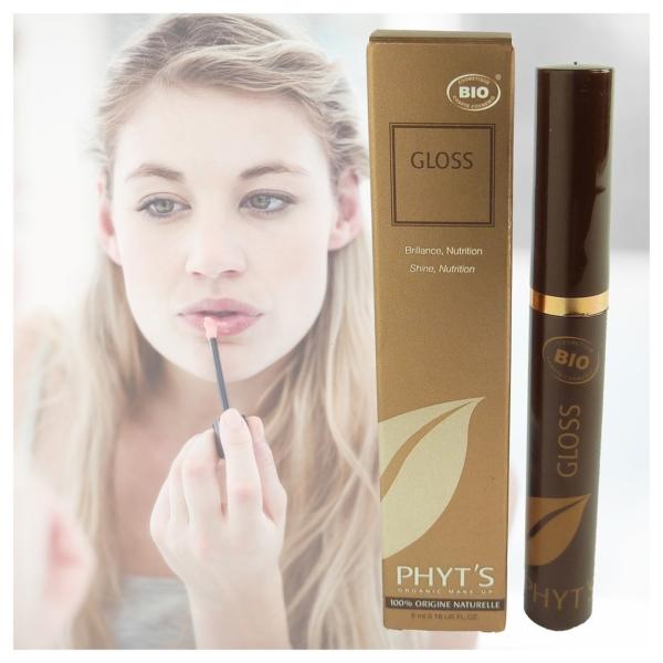 Phyts BIO Lip Gloss Farbauswahl Lippen Farbe Natur Make up ECOCERT COSMEBIO 5ml - Icy Sugar