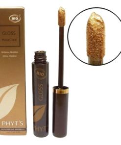 Phyts BIO Lip Gloss Farbauswahl Lippen Farbe Natur Make up ECOCERT COSMEBIO 5ml - Gingerbread