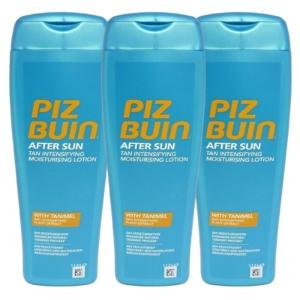 Piz Buin After Sun Tan Intensifying Moisturising Lotion - Sonnen Pflege 3x200ml