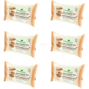 Preven's Paris - Make Up Entferner Feuchttücher - Bio - Pocket - Vitamin C - 6-Pack