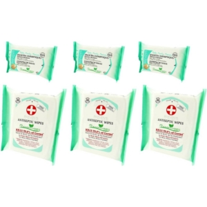 Preven's Paris Antiseptische Feuchttücher Hygiene Big Pack + Pocket Multipack - 3-Pack