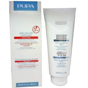 Pupa Anti Cellulite White Mud - Körper Haut Feuchtigkeit Pflege Grüntee - 400g