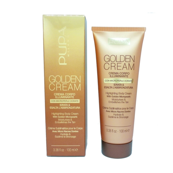 Pupa Golden Cream Highlightening Body Cream 002 Bronze Körper Glanz Creme 100ml