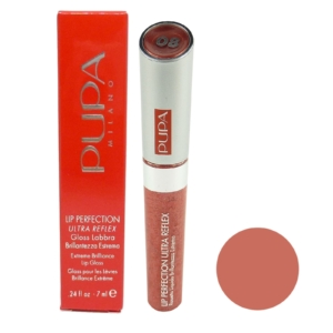 Pupa Lip Perfection Ultra Reflex Extreme Brilliance Lip Gloss - Lippen Farbe 7ml - 08 Reflex Red Orange