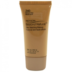 Revlon - Beyond Natural Skin Matching Makeup SPF15 - Foundation Grundierung 30ml - 240 medium deep