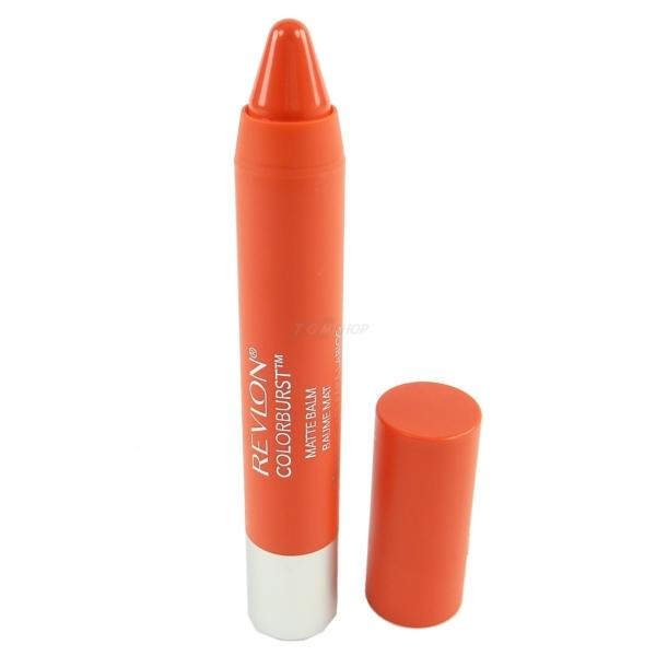 Revlon ColorBurst Matte Balm Lippen Stift Feuchtigkeit Pflege Balsam Makeup 2,7g - #245 Audacious