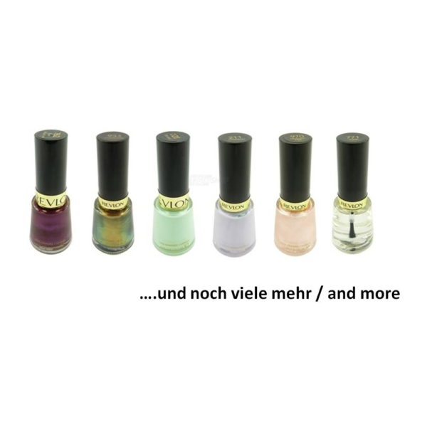 Revlon Nagel Lack Nail Enamel Maniküre 14,7 ml Farbe Nail Polish Make Up - Smoky Canvas - 091