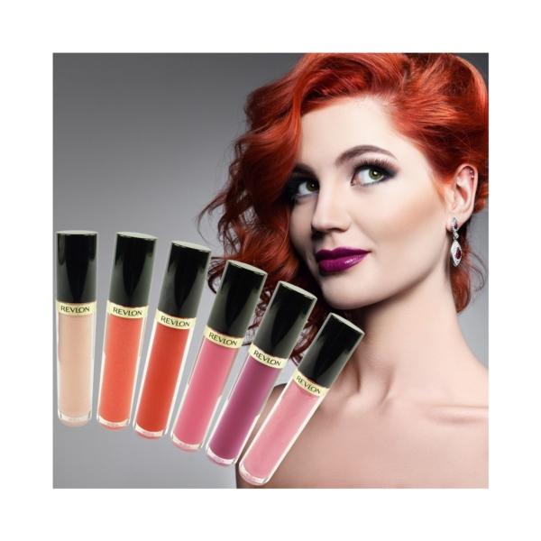 Revlon Super Lustrous Lipgloss - Lippen Farbe Make up Gloss Stift Kosmetik 3.8ml - 210 pinkissimo