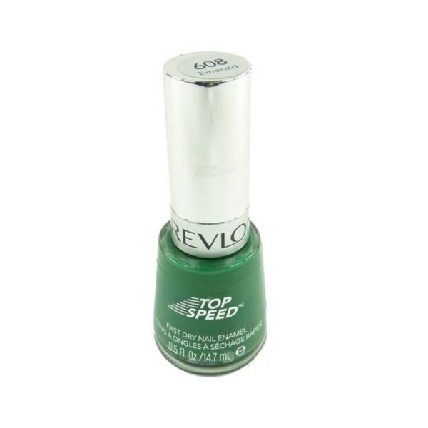 Revlon - Top Speed Fast Dry Nail Enamel Nagel Lack - Make up - Maniküre 14.7ml - #608 Emerald