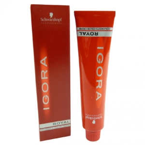 Schwarzkopf Igora Royal permanente Haar Farbe Coloration 60ml - Farbauswahl - 08-87 Hellblond Rot Kupfer