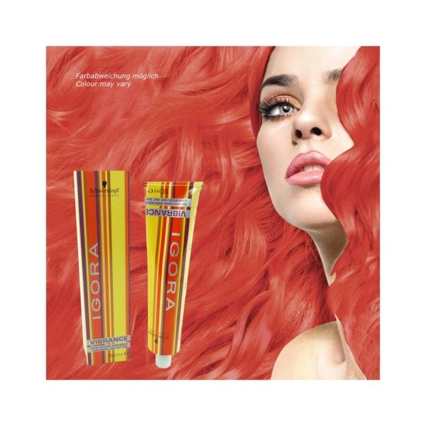 Schwarzkopf Igora Vibrance Tone-on-Tone - Creme Haar Farbe Coloration - 60ml - 0-88 Mixton rot