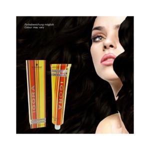 Schwarzkopf Igora Vibrance Tone-on-Tone - Creme Haar Farbe Coloration - 60ml - 5-07 Hellbraun Natur Kupfer