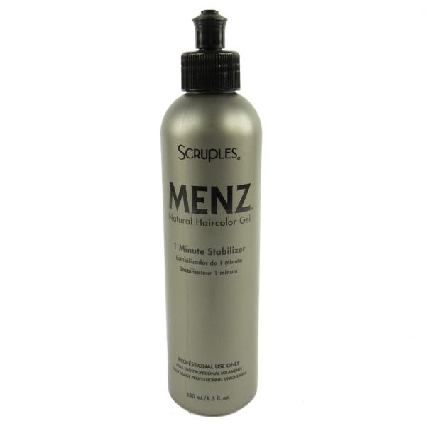 Scruples Menz Natural Haircolor Gel - 1 Minute Stabilizer - 250 ml - Haar Pflege