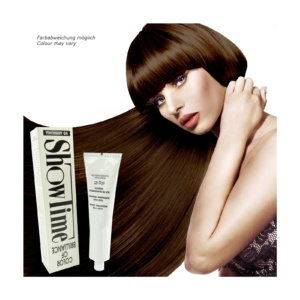 Showtime Color of Brilliance - Creme Haar Farbe Coloration ohne Ammoniak - 60g - # 6/7 Dark Blonde Brown / Dunkelblond Braun