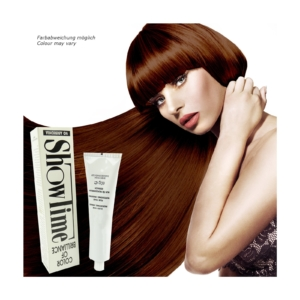 Showtime Color of Brilliance - Creme Haar Farbe Coloration ohne Ammoniak - 60g - # 6/75 Dark Blonde Chestnut Mahogany / Dunkelblond Kastanie Mahagoni