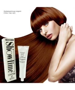 Showtime Color of Brilliance - Creme Haar Farbe Coloration ohne Ammoniak - 60g - # 7/34 Blonde Gold Copper / Blond Gold Kupfer