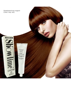 Showtime Color of Brilliance - Creme Haar Farbe Coloration ohne Ammoniak - 60g - # 7/64 Dark Violin Brown / Dunkel Violine Braun