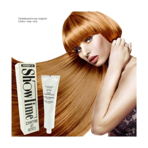 Showtime Color of Brilliance - Creme Haar Farbe Coloration ohne Ammoniak - 60g - # 8/4 Light Blonde Copper / Hellblond Kupfer