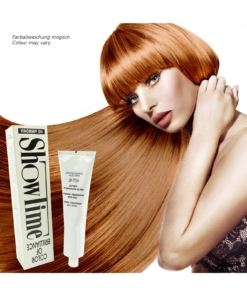 Showtime Color of Brilliance - Creme Haar Farbe Coloration ohne Ammoniak - 60g - # 8/43 Light Blonde Copper Gold / Hellblond Kupfer Gold