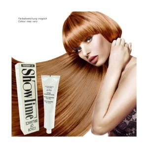 Showtime Color of Brilliance - Creme Haar Farbe Coloration ohne Ammoniak - 60g - # 8/45 Light Blonde Copper Mahogany / Hellblond Kupfer Mahagoni