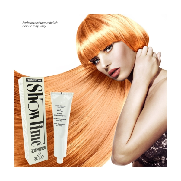 Showtime Color of Brilliance - Creme Haar Farbe Coloration ohne Ammoniak - 60g - # 9/03 Very Light Blonde Natur Gold / Sehr helles Blond Natur Gold