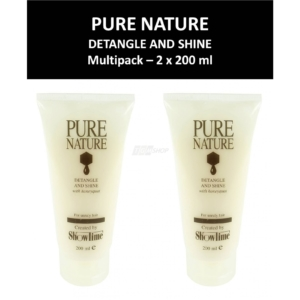 Showtime - Pure Nature - Detangle and Shine - Haar Spülung Honig - 2 x 200 ml