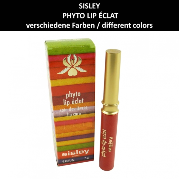 Sisley - Phyto Lip Eclat Lip Gloss Lippen Farbe Pflege - Make up - Kosmetik 7ml - # 4 rosewood