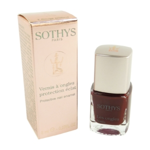 Sothys Protective Nail Enamel - Farb Auswahl - Nagel Lack Pflege Maniküre - 8ml - 07 Rouge profond
