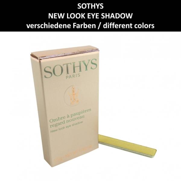 Sothys - New Look Eye Shadow Refill - Lidschatten - Augen Make up Kosmetik 1.5g - # 7 Brun mat