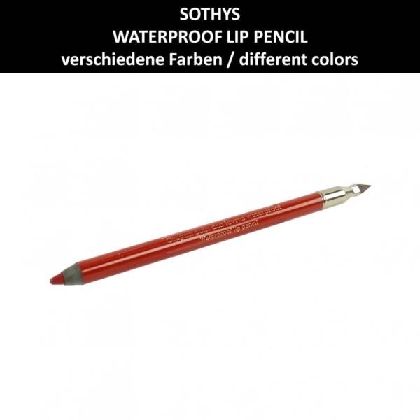 Sothys - Waterproof Lip Pencil - Lippen Konturen Stift wasserfest Make up 1.1g - # 4 Rouge