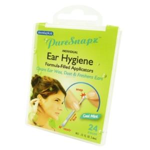 SwabPlus - Pure Snapz - Ear Hygiene Ohr Pflege Reinigung Reise Travel Multipack - 1-Pack