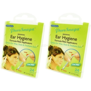 SwabPlus - Pure Snapz - Ear Hygiene Ohr Pflege Reinigung Reise Travel Multipack - 2-Pack