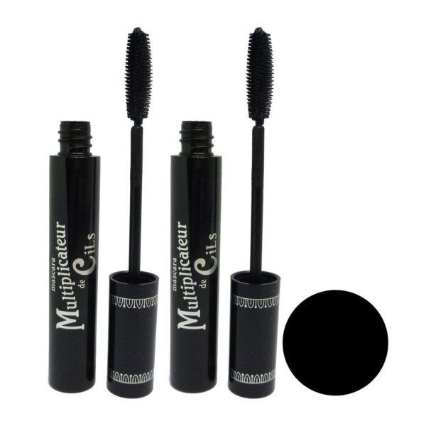 T.LeClerc Multiplicateur de Cils Mascara black Wimperntusche - MULTIPACK 2x10ml
