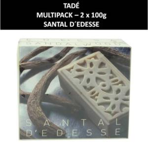 Tadé - Santal D'Edesse - Seife - Naturkosmetik - Körperpflege - 2x100g