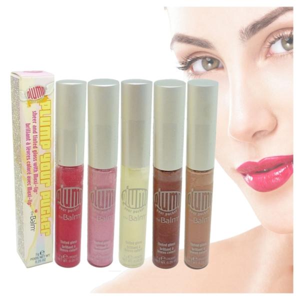 The Balm Plump Your Pucker Lip Gloss - Lippen Farbe Color Colour Make Up - 7g - tutti my frutti