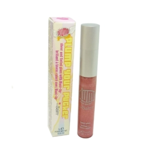 The Balm Plump Your Pucker Lip Gloss - Lippen Farbe Color Colour Make Up - 7g - ruby my grapefruit