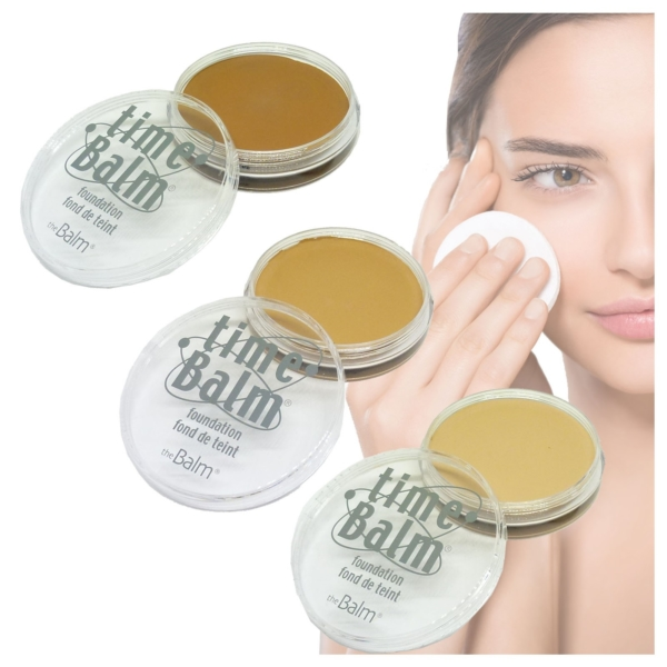 The Balm Time Balm Foundation - Grundierung Teint Gesicht Make up - 21,3g - lighter than light