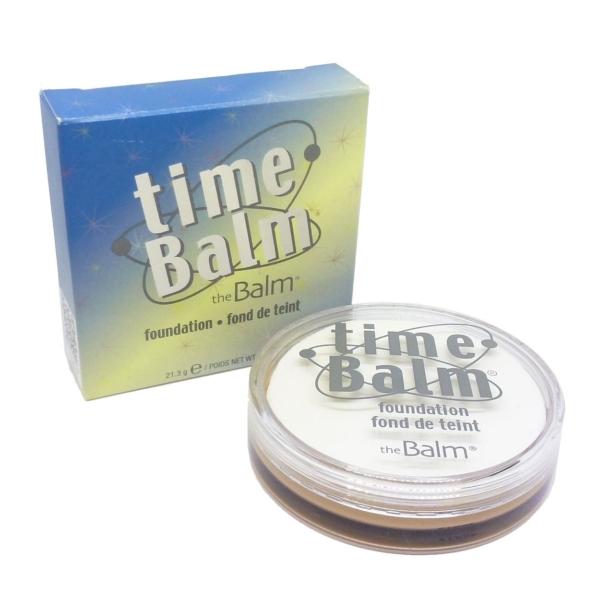 The Balm Time Balm Foundation - Grundierung Teint Gesicht Make up - 21,3g - medium dark