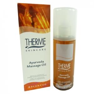 Therme Skincare Ayurveda Massage Öl - Aroma Körper Haut Pflege Wellness 125ml