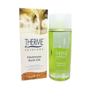 Therme Skincare - Hammam Bath Oil - 100ml - Bade Öl Körper Body Haut Pflege