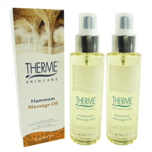 Therme Skincare Hammam Massage Öl - Körper Pflege Wellness - MULTIPACK 2x125ml