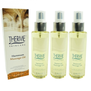 Therme Skincare Hammam Massage Öl - Körper Pflege Wellness - MULTIPACK 3x125ml