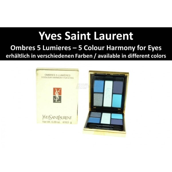 Yves Saint Laurent YSL Ombres 5 Lumières Lidschatten Eye Shadow Make Up 8.5g - 13 Candy