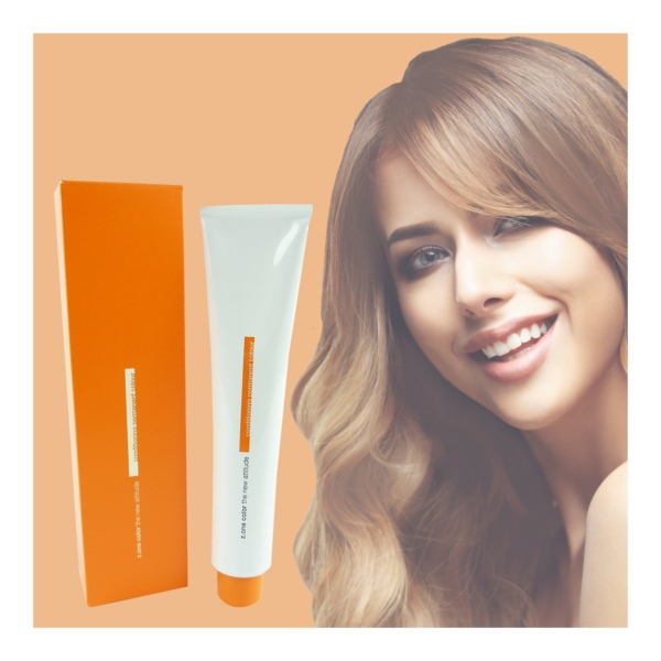 Z.ONE Color The New Attitude Haar Farbe - 100ml - permanent Coloration Creme - Beige Tobacco