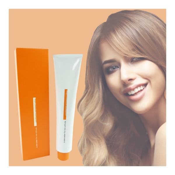 Z.ONE Color The New Attitude Haar Farbe - 100ml - permanent Coloration Creme - 6.43 Golden Copper Dark Blonde
