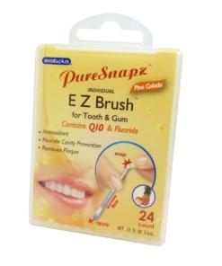 SwabPlus Pure Snapz EZ Brush Pina Colada - Zahn Bürste Belag Reinigung Fluorid