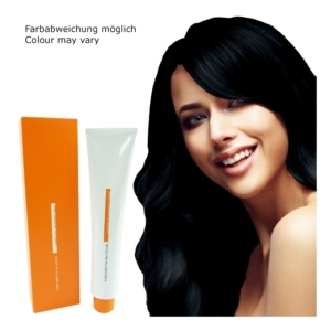 Z.ONE Color The New Attitude Haar Farbe - 100ml - permanent Coloration Creme - 1 Black