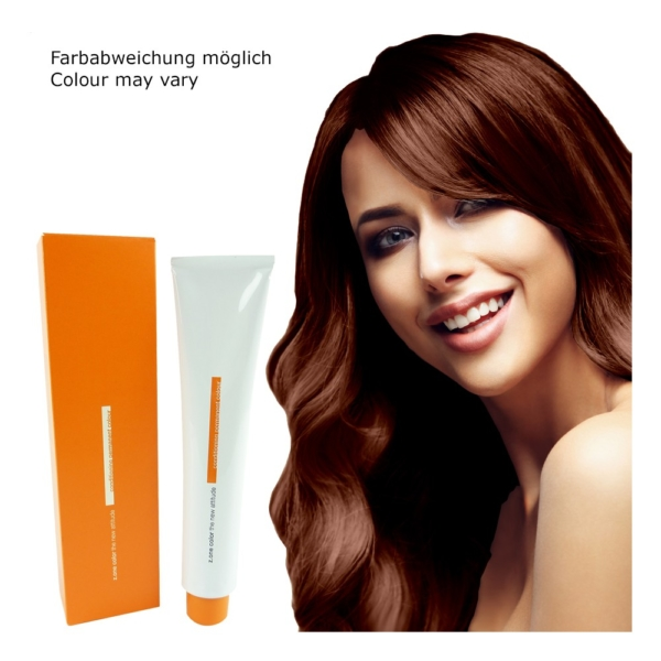 Z.ONE Color The New Attitude Haar Farbe - 100ml - permanent Coloration Creme - Tobacco